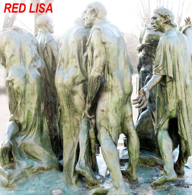 Photo CARTOON Red Lisa